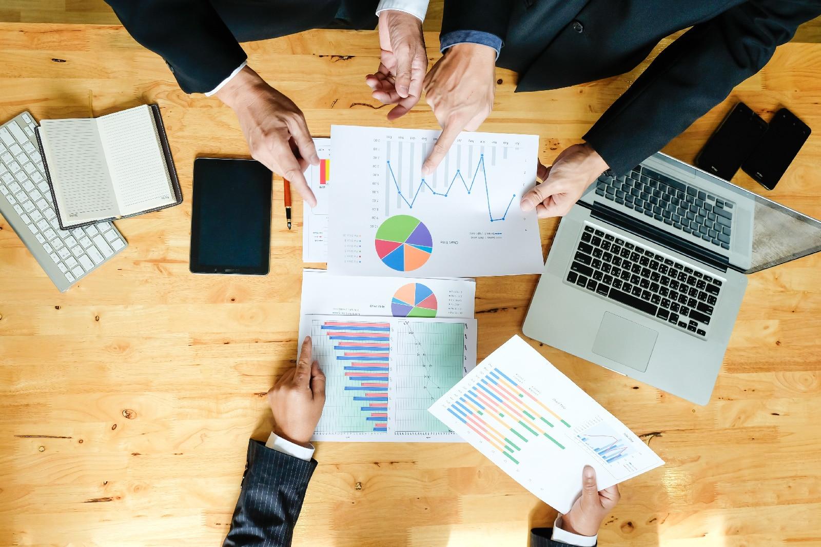 Réunion de définition d'une stratégie d'entreprise