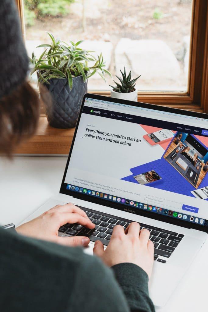Création d'une nouvelle boutique e-commerce