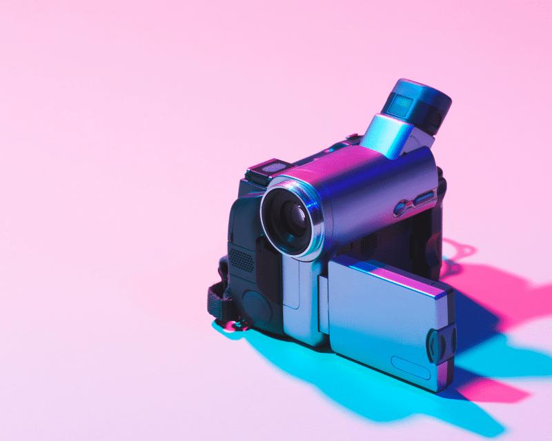 Camera social media video d'entreprise